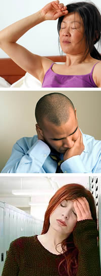 Effects of Brain Injury - Tired