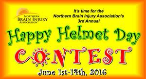 Northern Brain Injury Happy Helmet Contest 2016