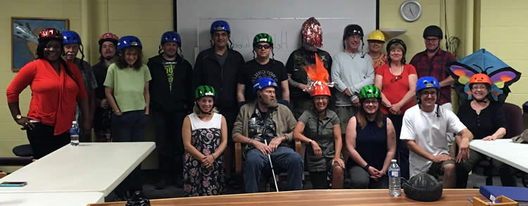 2017 Happy Helmet Contest Adult Winners