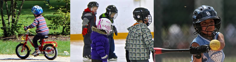children sports helmets