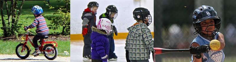 children sports helmets