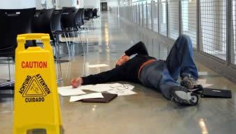 workplace slip