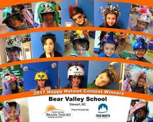 2017 Happy Helmet Contest Winners - Kids 2