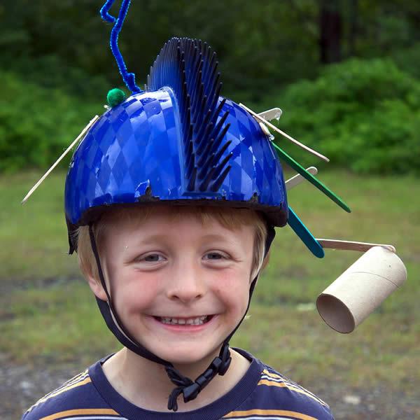 Happy Helmet Contest 2018 1st Place - Kaden R, Stewart BC