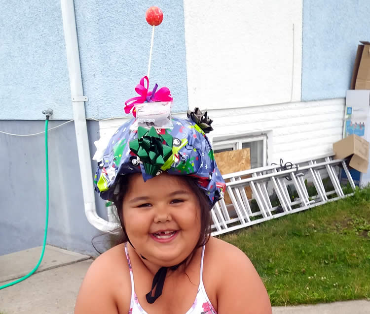 2019 NBIA Happy Helmet Contest - Nevaeh