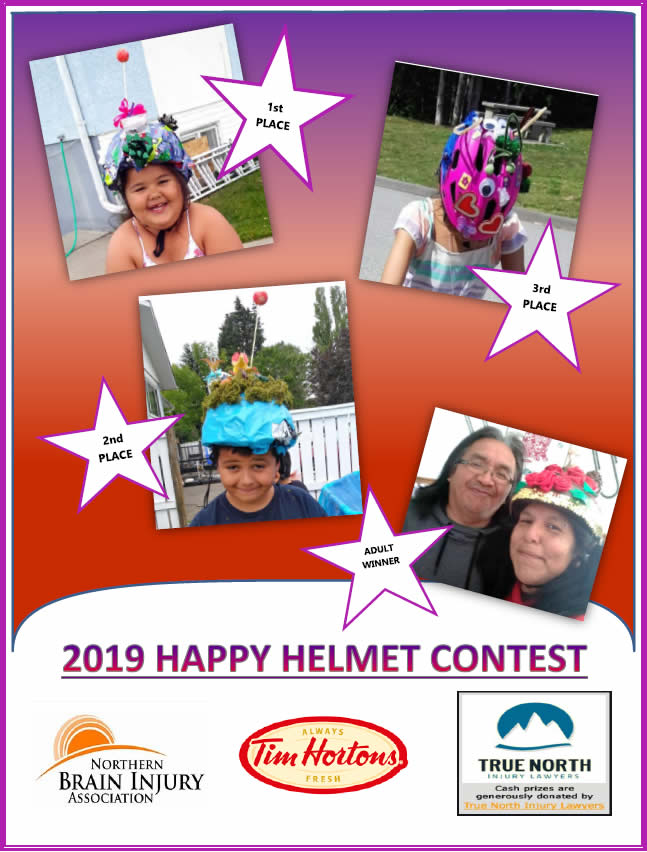 2019 Happy Helmet Contest Winners Poster